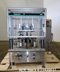 """Hoppmann rotary radial container orienter, Model """"Orienter"""". Serial # 381450. 12-head unit, stainle..."""