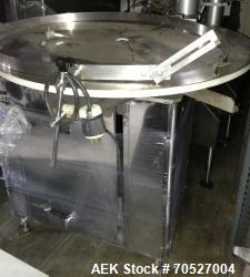 Used- King Rotary Accumulation Table, Model US3