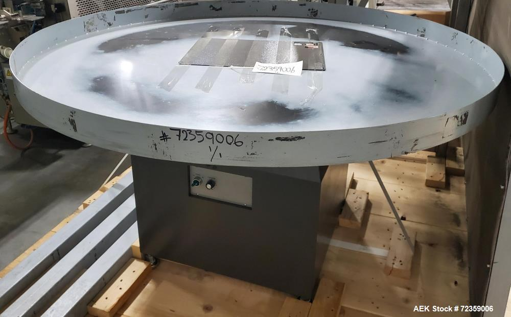 """Excel Packaging Systems 60"""" Diameter Rotary Turntable"""