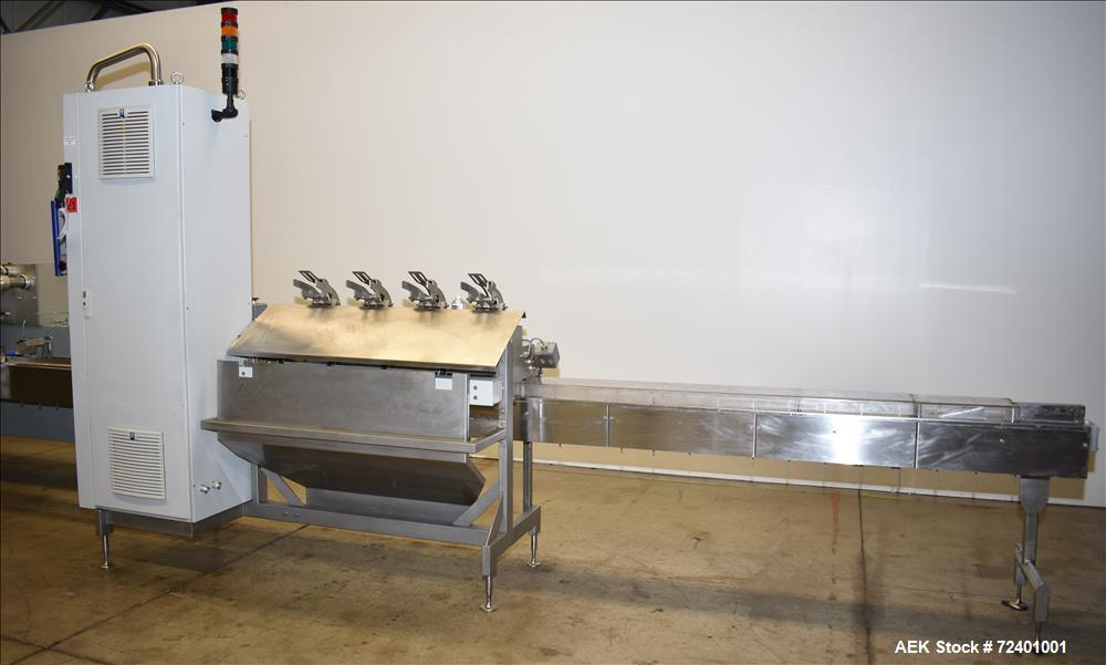 Used- Delta Systems Eagle High Speed Automatic Horizontal Flow Wrapper.