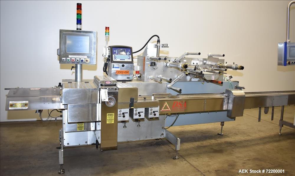 Used- Delta Systems / Ilapak Eagle High Speed Automatic Horizontal Flow Wrapper.
