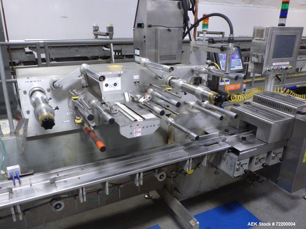Used- Delta Systems / Ilapak Eagle High Speed Automatic Horizontal Flow Wrapper