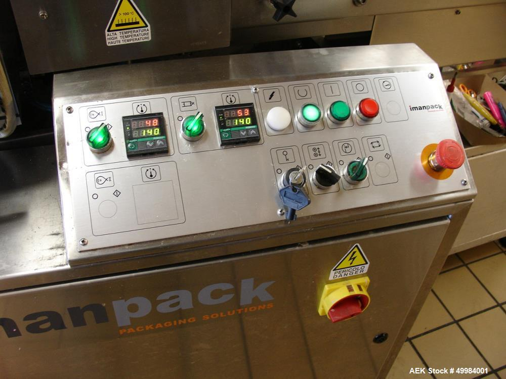 Used- Inmanpack Micropac 200 Mini Mechanical Drive and Controls Analog Temperatu