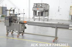 Doboy Scotty II Horizontal Flow Wrapper. Machine is capable of speeds up to 60 packages per minute a...
