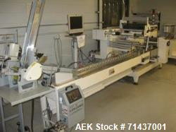 Used- Ilapak High Speed Card Wrapping Line (Flowpack style)