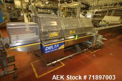 Ilapak Delta 4000 LDR-3SSC Horizontal Flow Wrapper with long dwell and zipper attachment. Has extend...