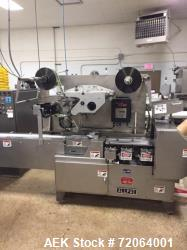 Used Allpac Automatic Horizontal Fin Seal Wrapping Machine