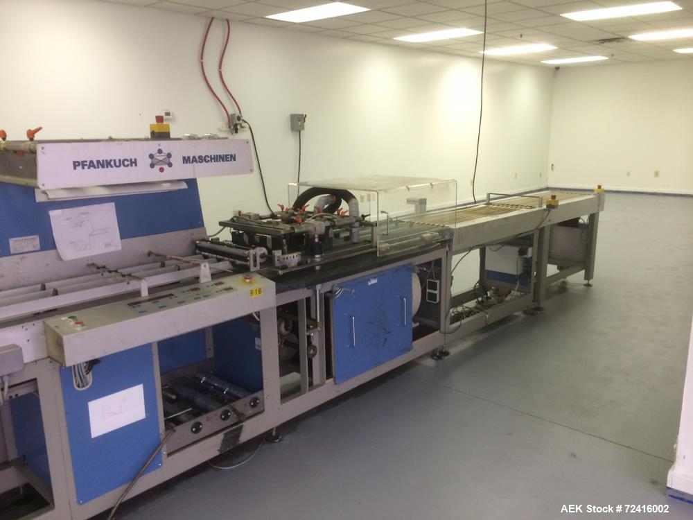 Used- Pfankuch VP4508 Collating OPP Film Wrapping Line