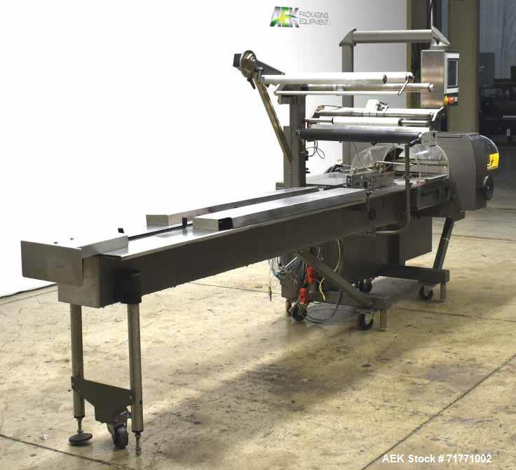 Used- Rose Forgrove Model RF305 Merlin Automatic Horizontal Wrapper
