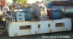 Used- C.E. Bauer Double Disc Refiner, Model 400-SF-5
