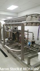 Unused- Fleetwood Goldco Wyard (Barry-Wehmiller) Volutherm Flash Pasteurizer