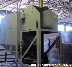 Used-EAGLE HYDRAULIC GAYLORD BOX DUMPER STATION AND HOPPER