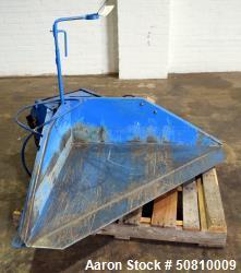 Used- Plastic Process Equipment Floor Level Gaylord Tilt Table, Model BT-16000