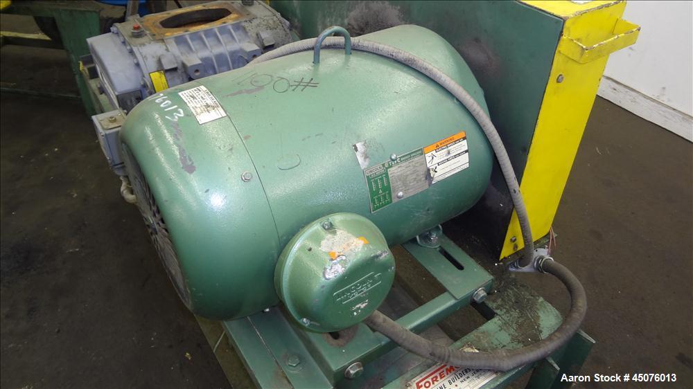 Used Foremost Machine Builders Vacuum Conveying