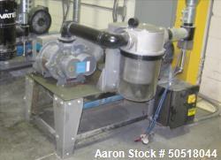Used-Novatec Vacuum Loader Model VPDB-15, SN 43839-3537, 460V, 3 Phase, 60 HZ. 18.5 Amps, Toshiba 15 HP Motor, YEAR 2013