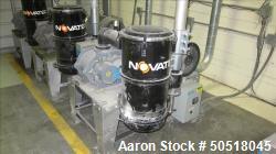 Used-Novatec Vacuum Loader Model VPDB-15, SN 33956-3563, 460V, 3 Phase, 60 HZ. 18.5 Amps, Toshiba 15 HP Motor, YEAR 2012