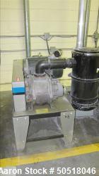 Used-Novatec Vacuum Loader Model VPDB-15, SN n/a, 460V, 3 Phase, 60 HZ. 18.5 Amps, Toshiba 15 HP Motor