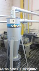 Used-Novatec Vacuum Loader, Model VPDB-15, SN 59569-4002, 15HP Toshiba Motor, Year 2015, 460 Volt, 3 Phase, 60 Hz, 19.7 Amps