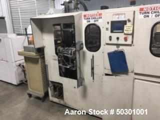 Used- Amsler Two Cavity Reheat Stretch Blow Molding Machine
