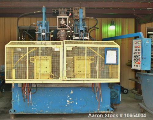 Used-Bekum Continuous Extrusion Blow Molding Machine, Model H-151-M