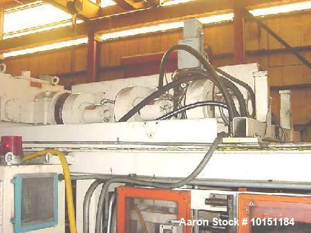Used- Hartig Dual Head Blow Molder