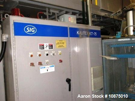 Used- Kautex Mold KT-75 Accumulator Blow Molding Machine