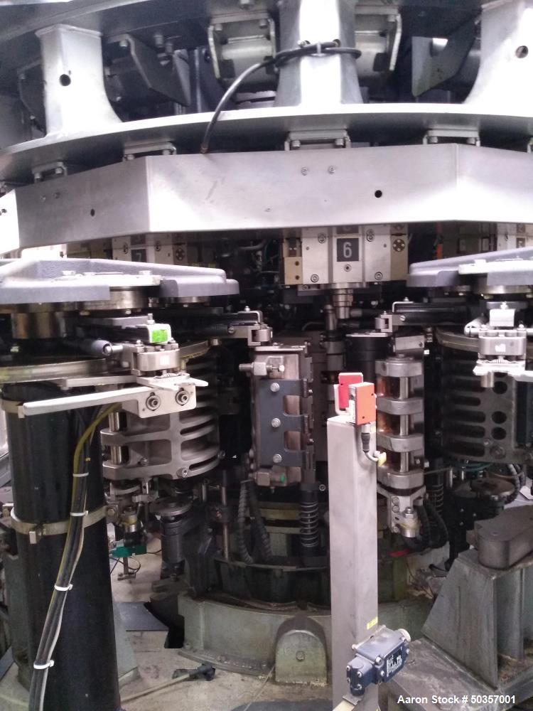 Used- Krones Contiform S-10 Blow Molding Machine