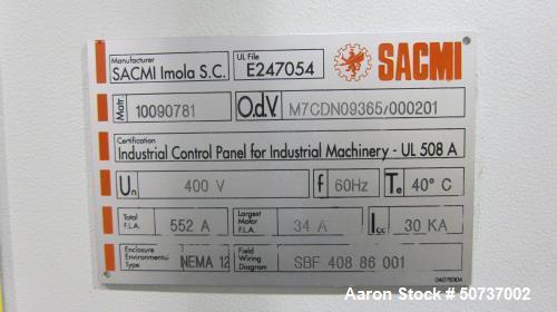 Used- Sacmi SBF408 Blow Mould Machine