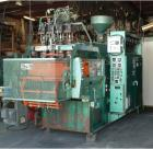 Used-Uniloy Reciprocating Blow Molding Machine, Model 5835.  4 x 8