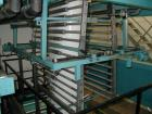 Used- Barmag 5 Layer Co-Extrusion Blown Film Line, type BF12-5/5-1400 AK. Capacity of 495 lbs. (220 kgs) per hour consisting...