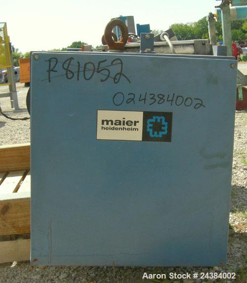 "Used- Maier 47"" Wide Nip Roll station, Model AP1200"