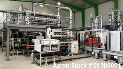 Used- Dolci 5 Layer Extrusion Cast Stretch Line