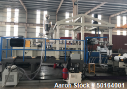Used- Rolbatch 3-5 Layer Cast Film Line
