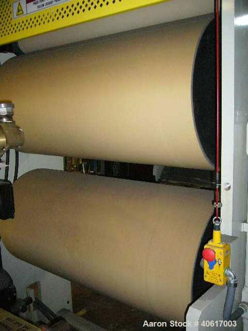 """Used- PTI 50"""" Wide S Wrap Pull Roll Assembly, Model SWU"""
