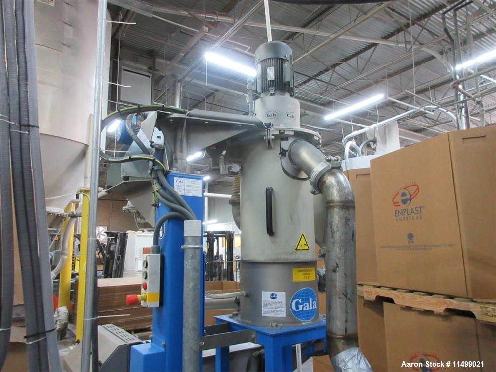 Used- Berstorff / Gala 40mm Twin Screw Pelletizing Line