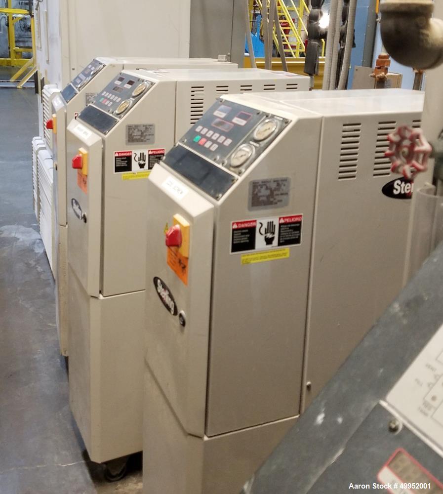 Used Buss Kneader System, Type 96EV-10C 200-4 Quantic Extruder, 105mm screw diameter 10;1 L/D Ratio, 750 Max screw RPM. Unit...