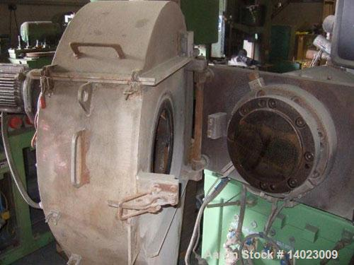 Used-Reifenhauser BT3500-2-142-17V Recycling Line.  Screw diameter 142 mm.  174 hp/130 kW.  Included in the line:  (1) die f...