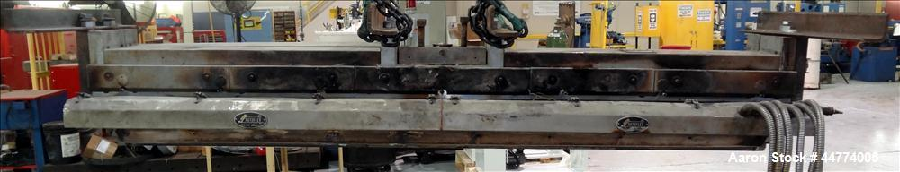 """Used- EDI 94"""" Autoflex AFII H40C Sheet Die. Approximately 2"""" diameter back center feed. Lip opening .001 to .030. Serial # 8..."""