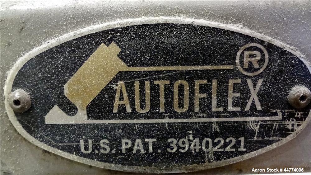 "Used- EDI 94"" Autoflex AFII H40C Sheet Die. Approximately 2"" diameter back center feed. Lip opening .001 to .030. Serial # 8..."