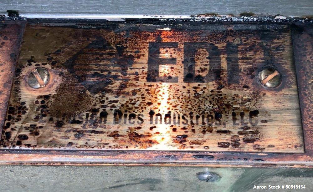 """Used- EDI Extrusion Dies 60"""" Wide Sheet Die"""