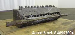 "Used- 30"" Wide Sheet Die, 45 Degree Restrictor Bar."