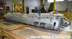 "Used- EDI Extrusion Dies 60"" Wide Sheet Die. Back center feed with adapter. Serial#12-31509-1."