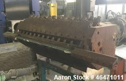 "Used- Flex Lip Sheet Die,  29"" wide, back center feed, dual R bars, removable lower lip, with manual decklling, serial# 8926..."
