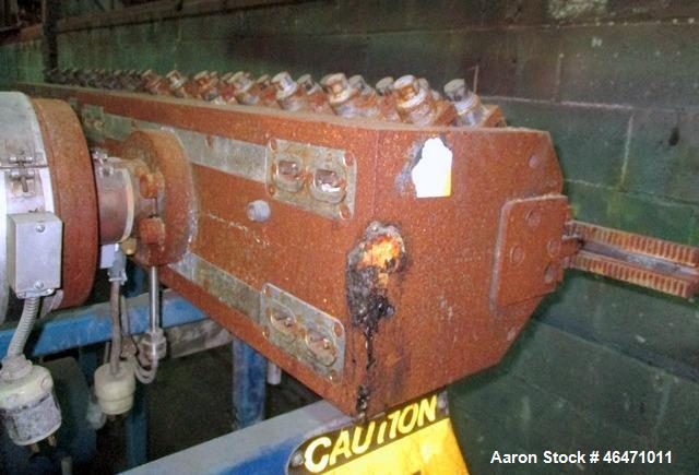 """Used- Flex Lip Sheet Die,  29"""" wide, back center feed, dual R bars, removable lower lip, with manual decklling, serial# 8926..."""