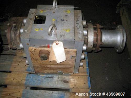 Used- MAAG Gear Pump Body, Type 110-4 STX