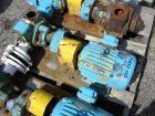 Used- One (1) Blackmer gear pump, model GSX2 1/24, carbon steel construction, 2.5