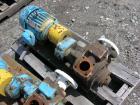 Used-One (1) Blackmer gear pump, model GSX2 1/24, carbon steel construction, 2.5