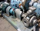 Used- Blackmer Gear Pump, Model SNP2.5, stainless steel construction, 2.5