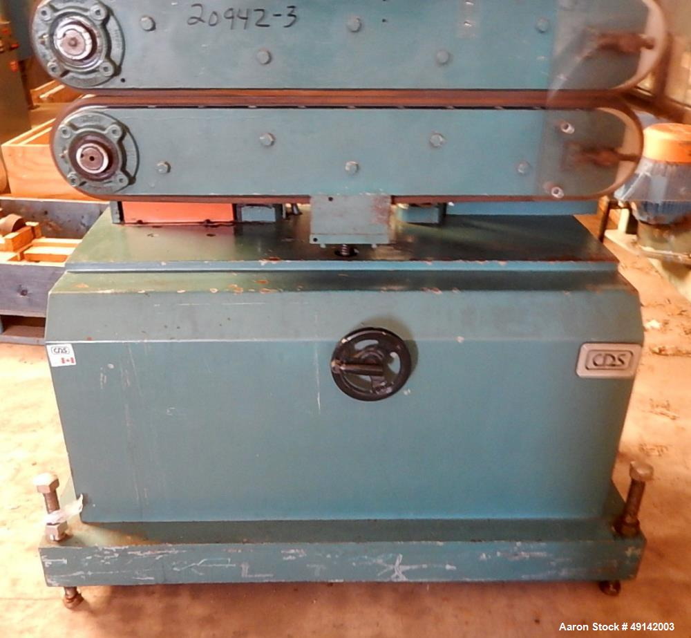 Used- Customs Downstream Systems Belt Puller, Model CCH 36-14