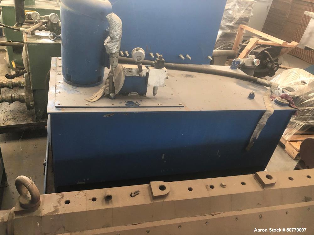 "Used- Beringer 12"" Hydraulic Slide Plate Screen Changer"